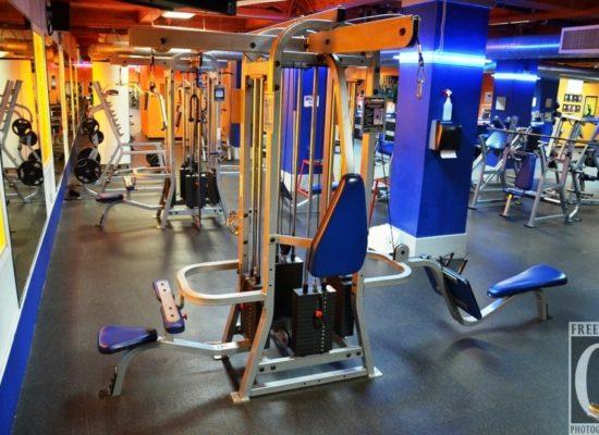 Modern Fitness Equipment