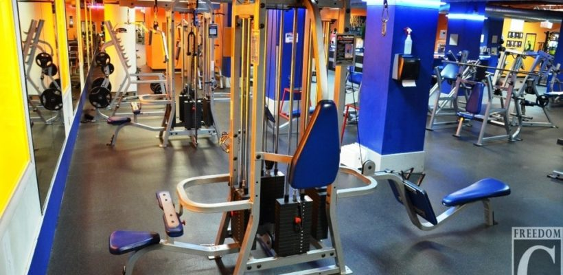 Modern Fitness Equipment
