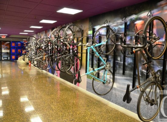 Indoor Bike Rack!